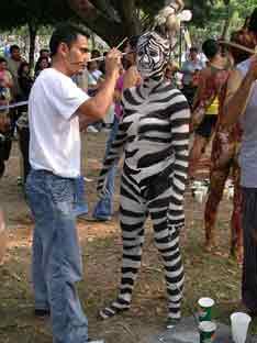 Paola de Zebra/Parque Cuzcatlán/Compañía Sólo por Hoy